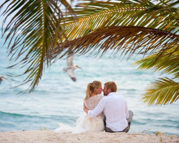 Свадебная фотосессия в Мексике