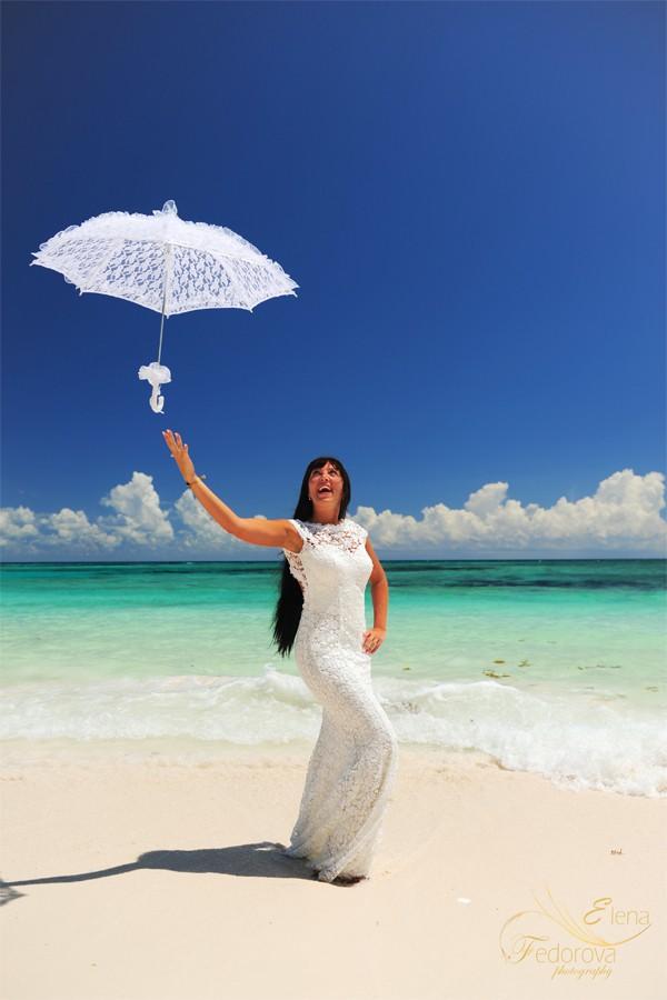 фотосессии девушек на пляже мексика