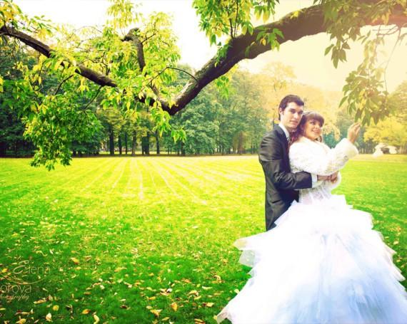Свадебная прогулка и другие прекрасные моменты свадьбы