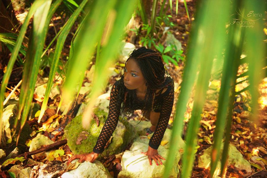 фотосессия девушек на природе
