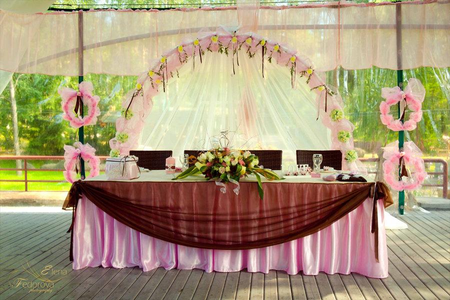 идея для свадебного декора стол
