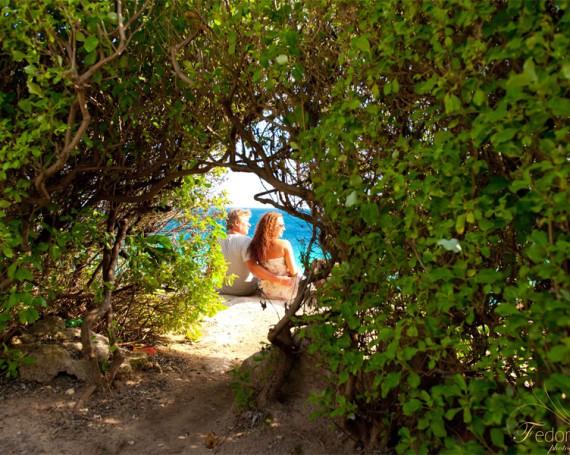Лав стори фотосессия на острове Исла Мухерес
