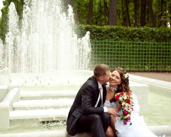 Красивая свадебная фотосъемка в Санкт Петербурге
