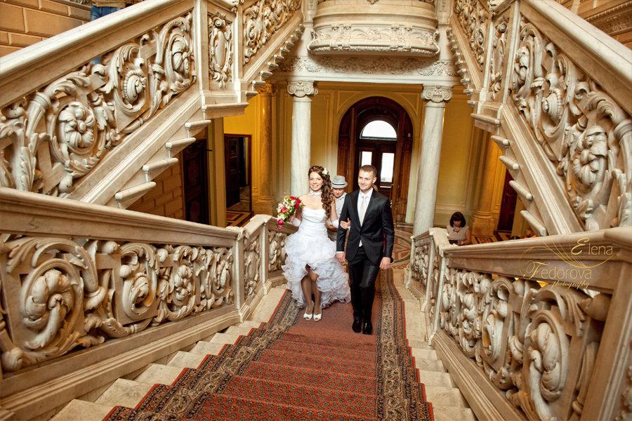свадебная фотосессия в загсе на английской
