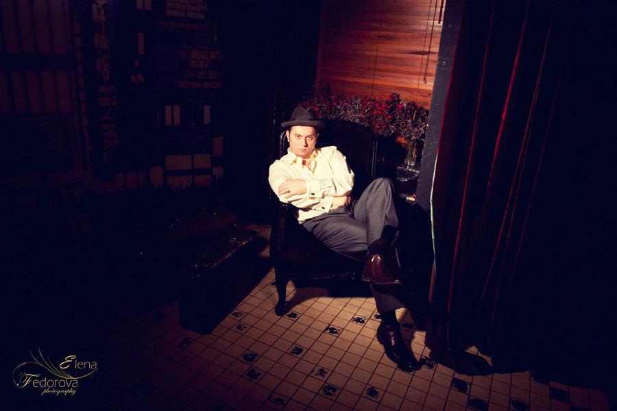 мужской портрет в студии