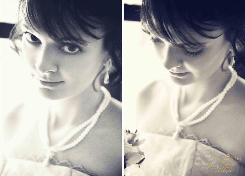 фото невест черно белое