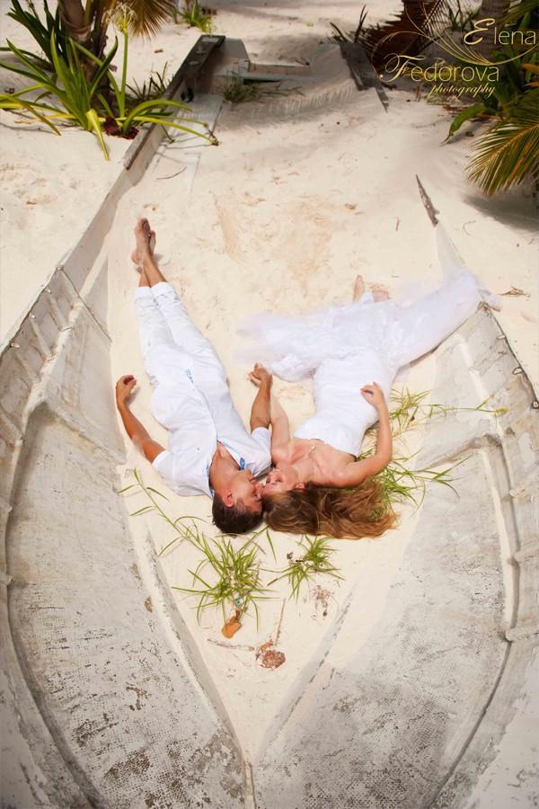 свадебная фотосессия на ривьера майя