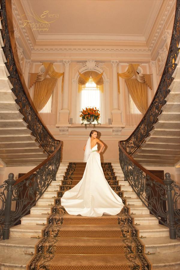 шикарная фотография невесты спб