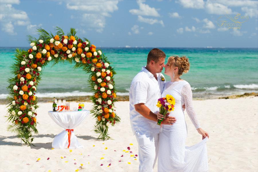 свадьба за границей мексика