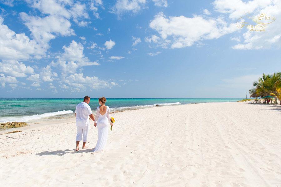 свадебная прогулка пляж