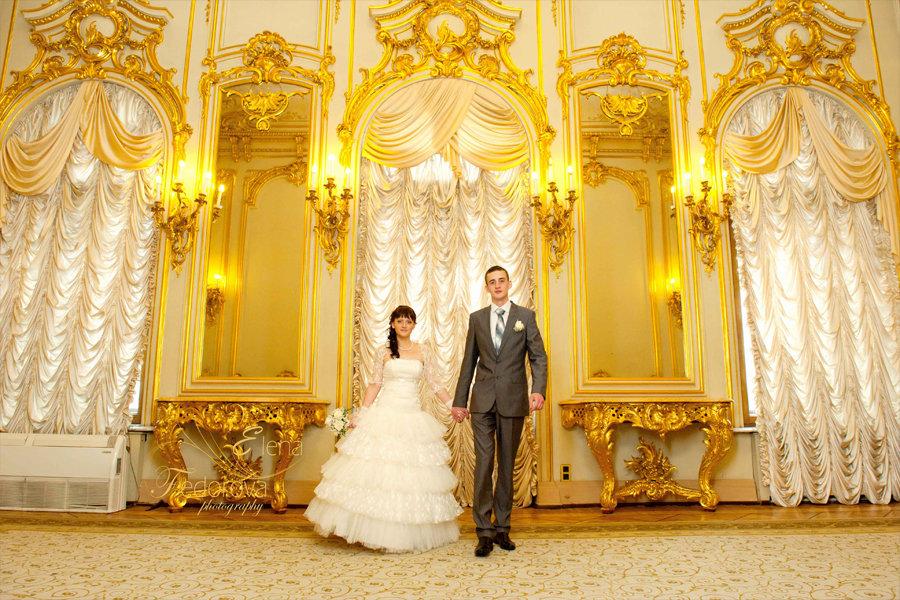 свадебные фотографии в загсе