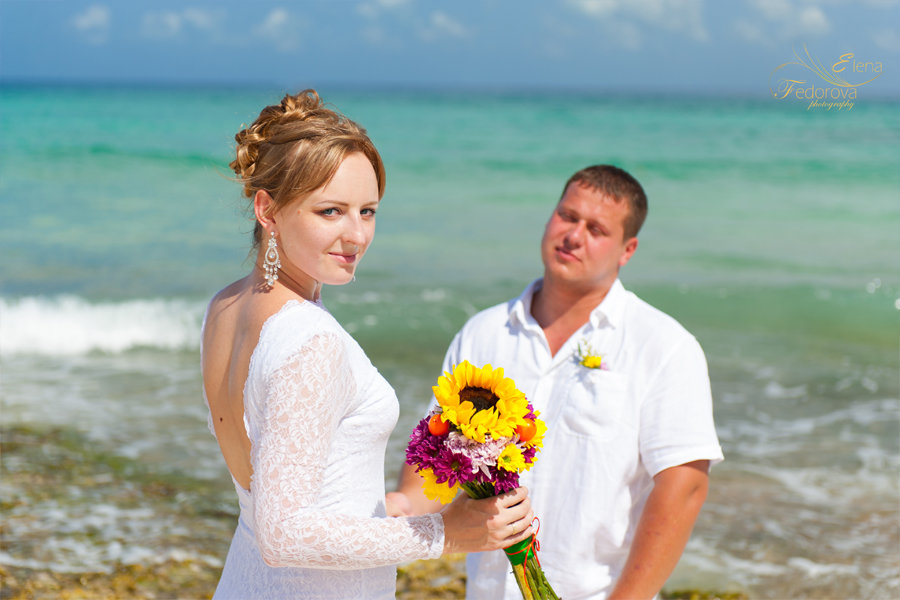 свадебное фото мексика