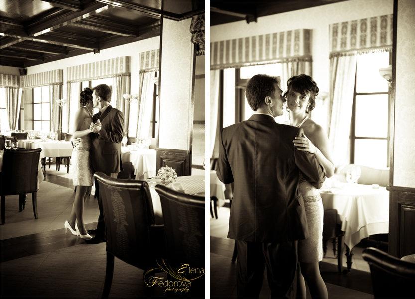 свадебное фото танца