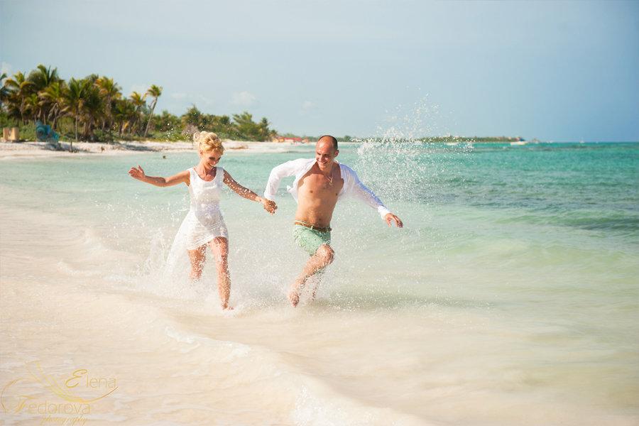свадебная фотосессия море