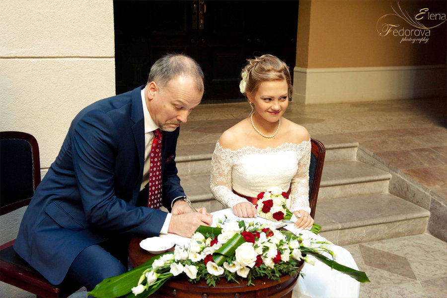 свадебная церемония петербург