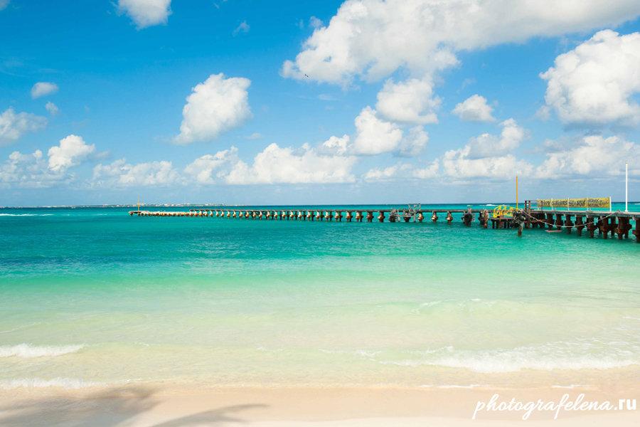 фото пляжа канкун