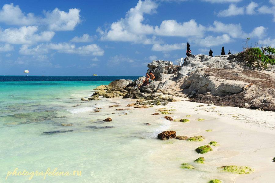другой пляж канкуна