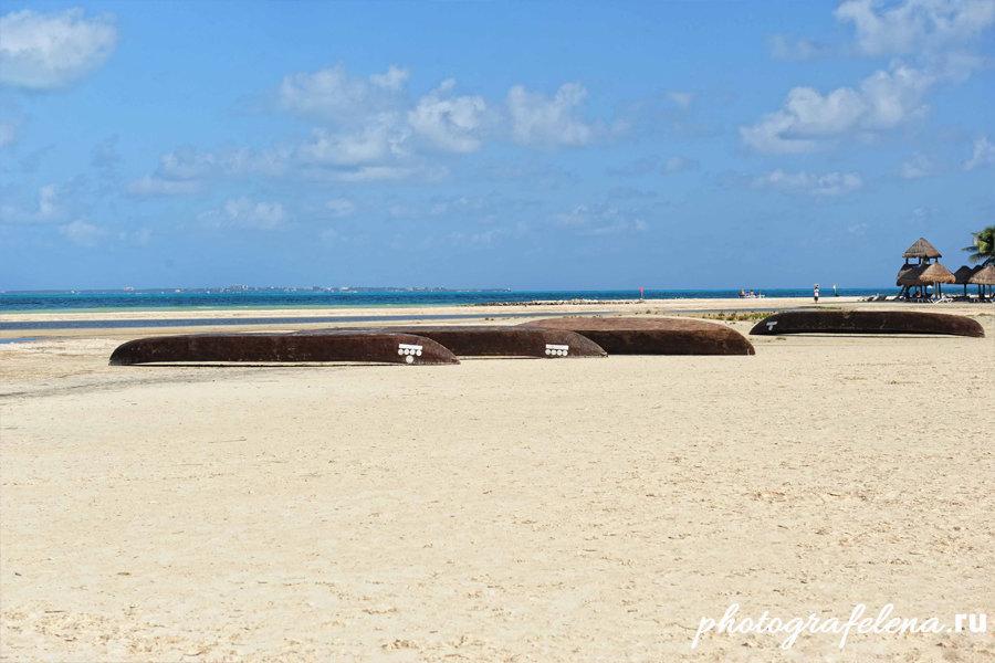 пляж канкун мексика