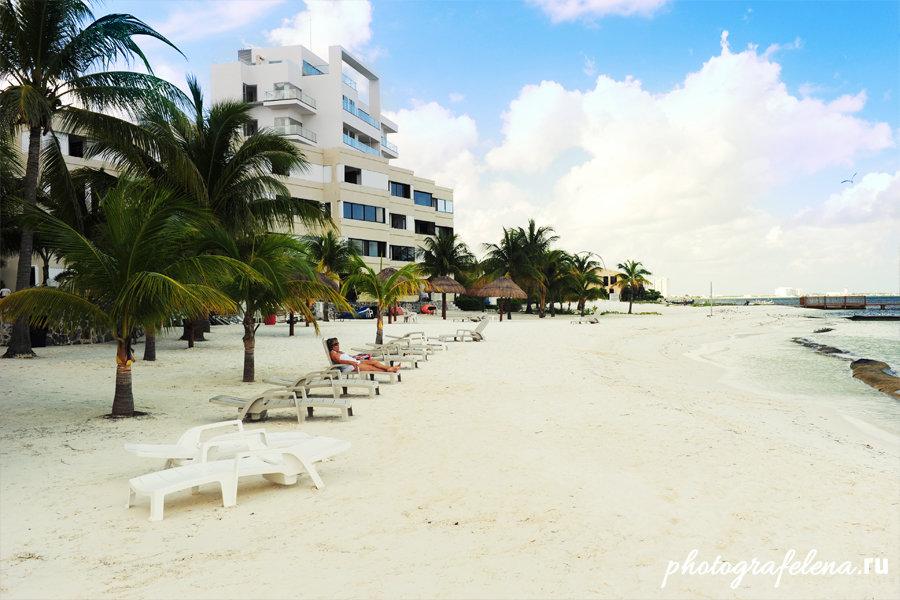 отдых в канкуне пляж