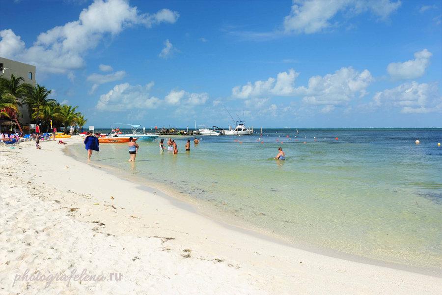 пляж лангоста канкун мексика