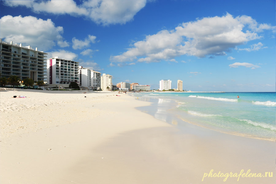 пляж чак мол мексика канкун