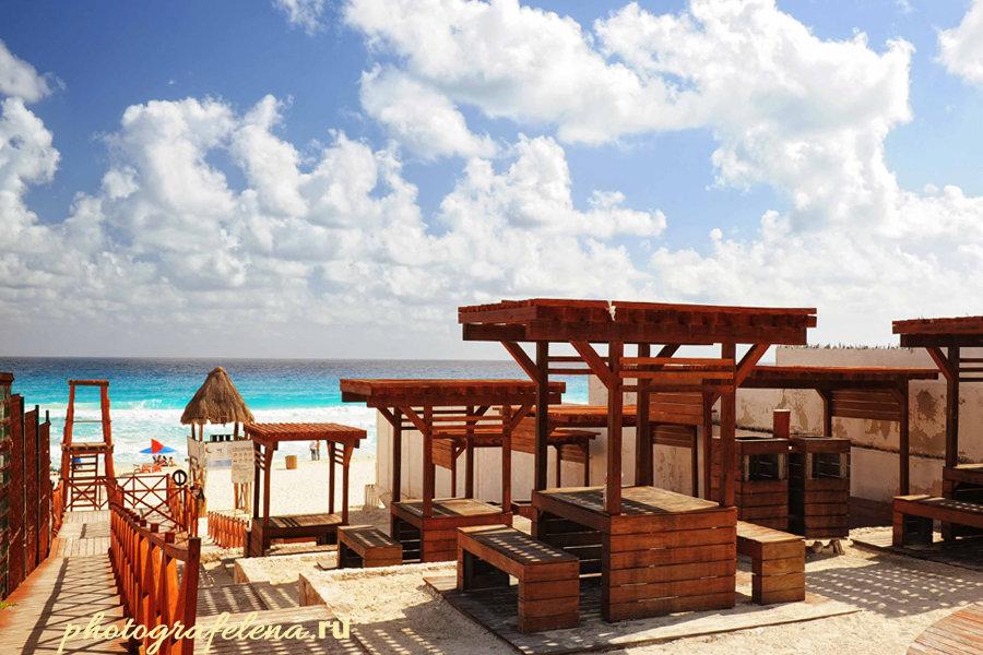 канкун мексика пляж