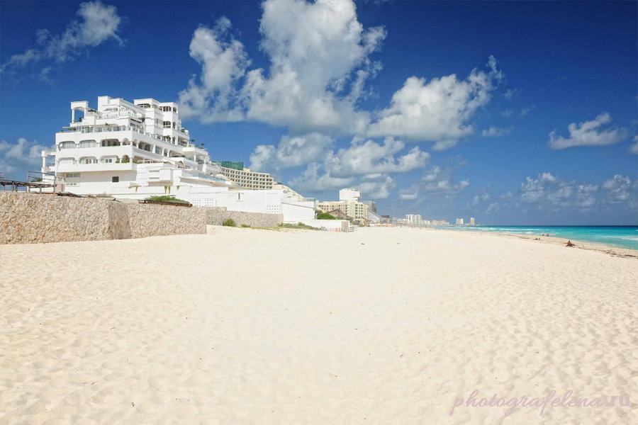 пляж марлин в канкуне