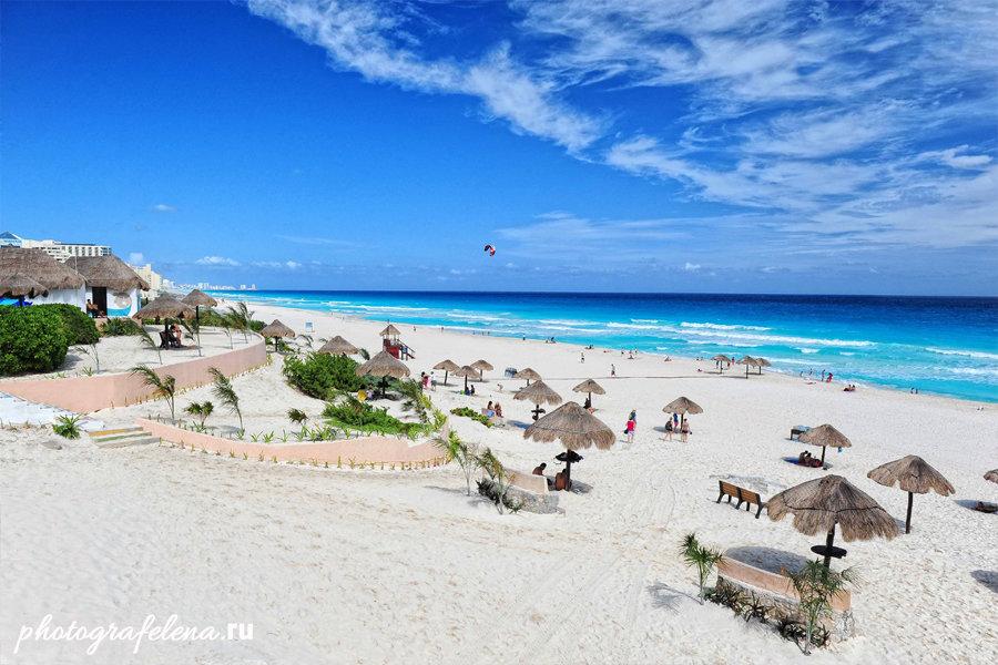 пляжи мексики канкун