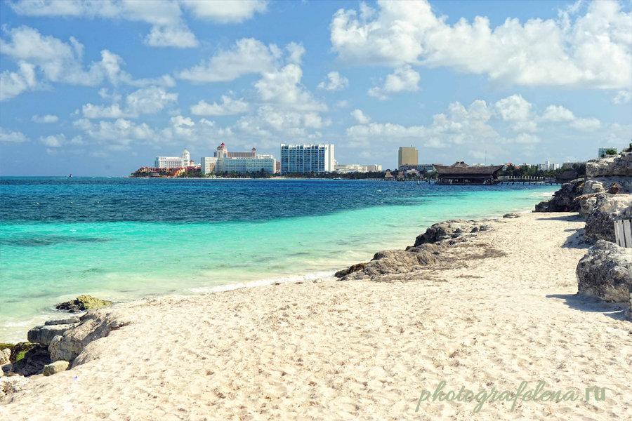 фото пляжей канкуна