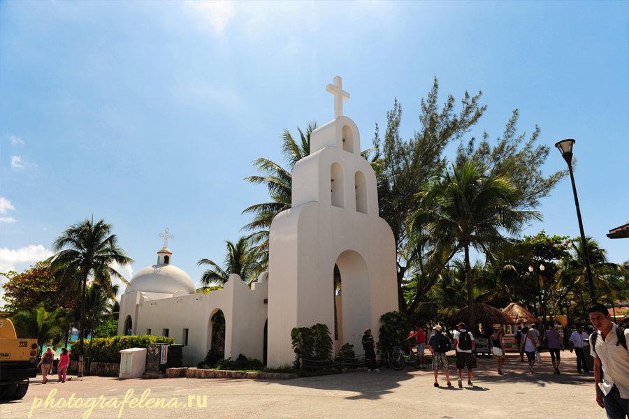 церковь в плая дель кармен