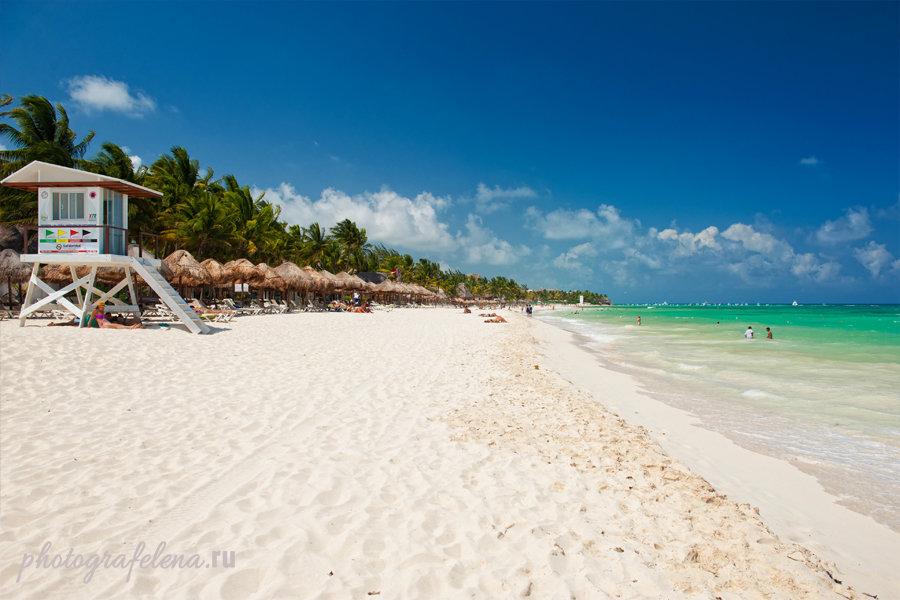 пляжи мексики плая дель кармен