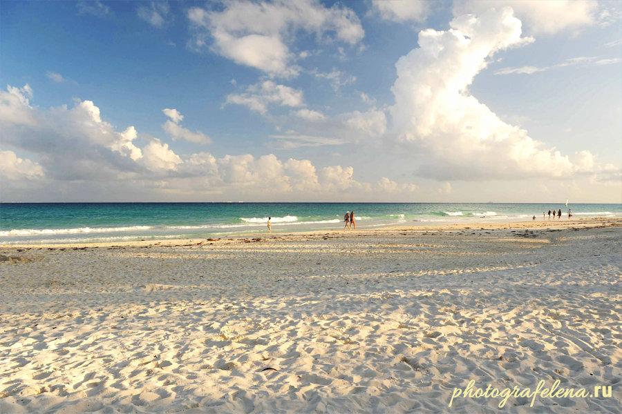 пляж в плайкар мексика