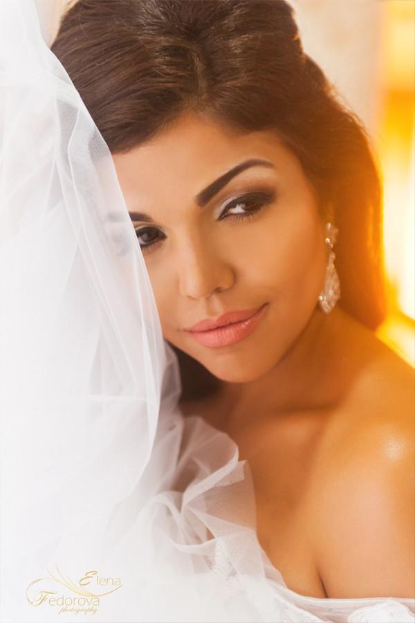 свадебная фотография невеста