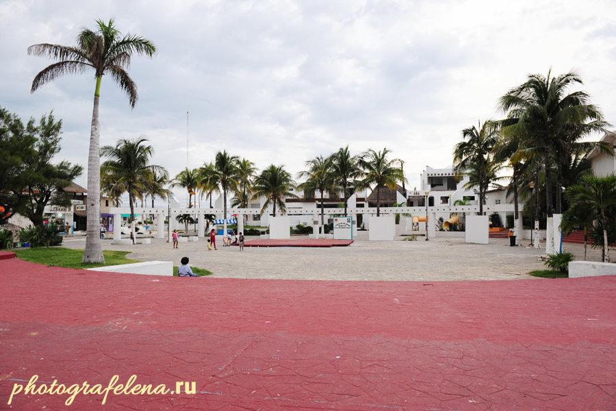 главная площадь на исла мухерес фото