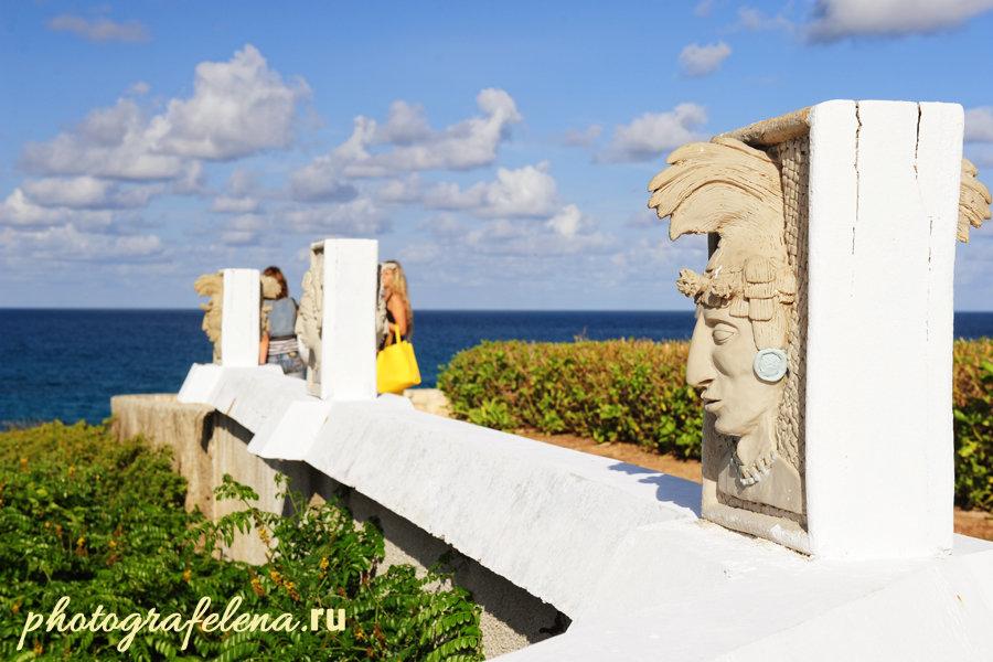 майянские памятник на исла мухерес