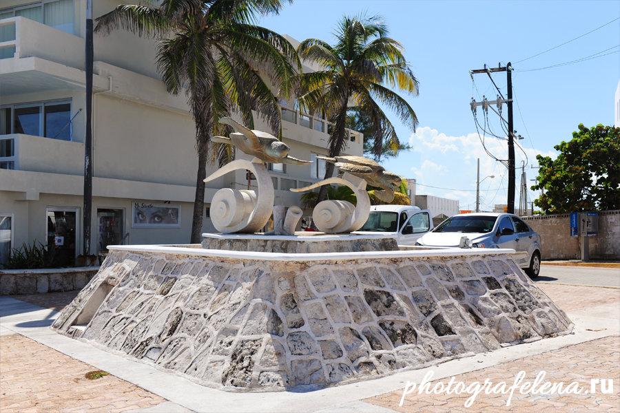 памятник на исла мухерес