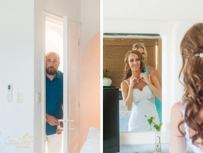 портрет невесты на сборах