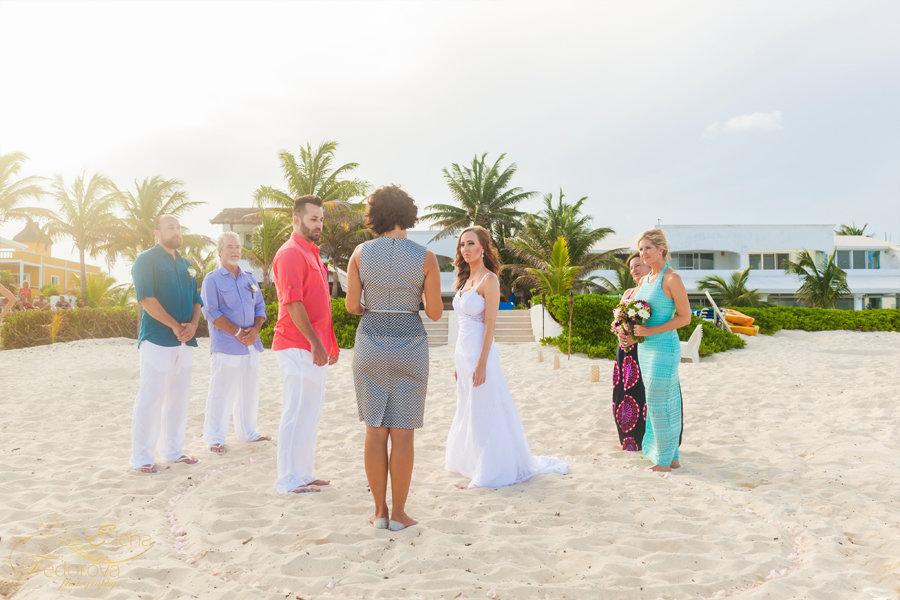 свадьба на пляже в мексике