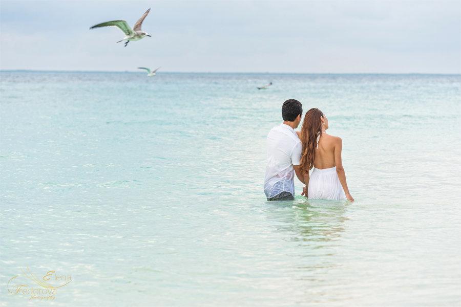 фотосессия на море исла мухерес