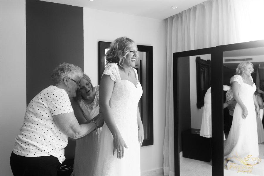фото сборов невесты в отеле