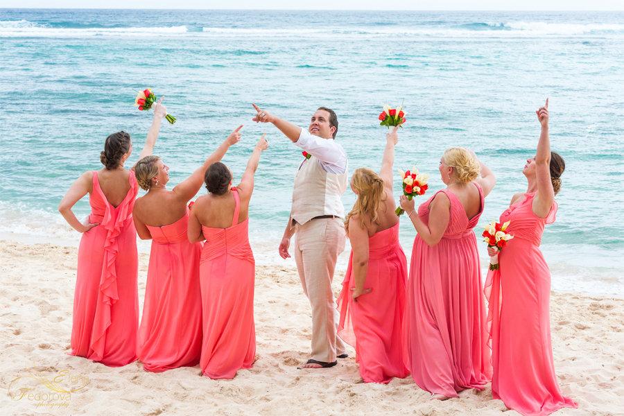 веселое свадебное фото