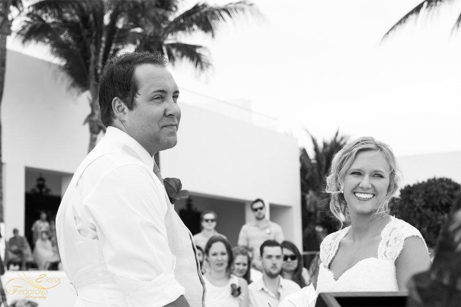 жених и невеста фото с церемонии