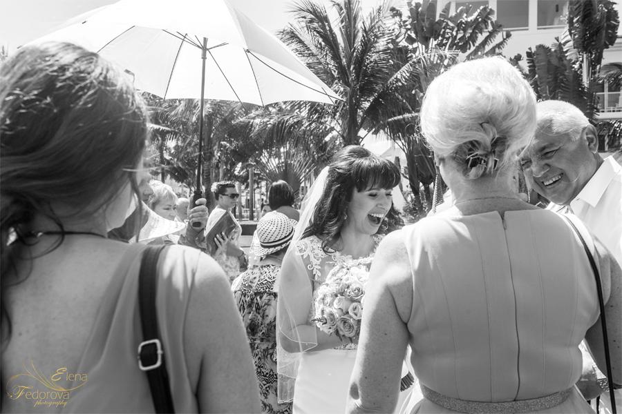 репортажная свадебная фотография