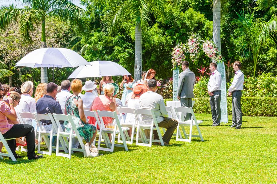 свадьба церемония на природе