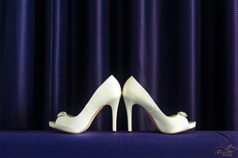 свадебные детали туфли