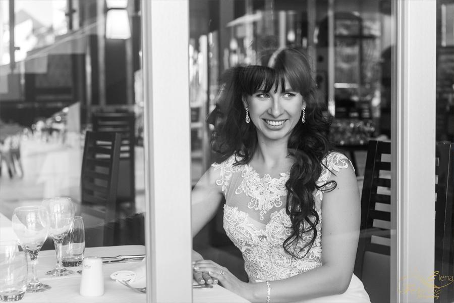 черно белый портрет невесты фото