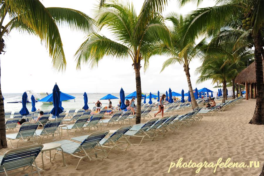 пляжи мексики на косумель