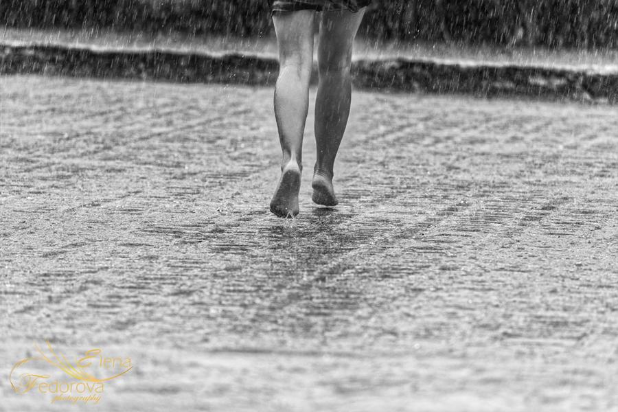 танец под дождем фото