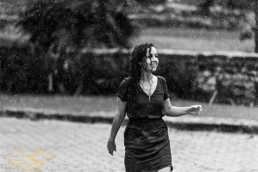 черное белые фотографии дождь