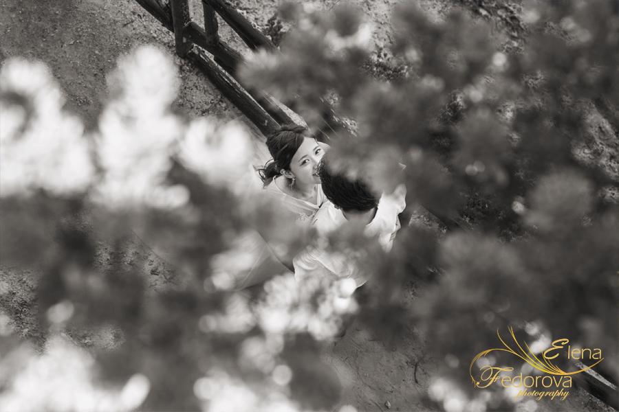 арт черно белая фотосессия